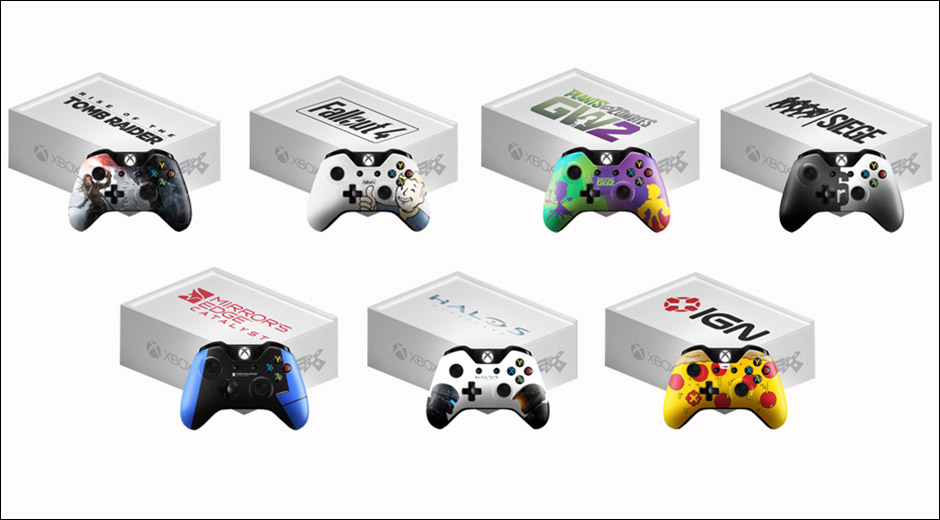 xbox one pax controller