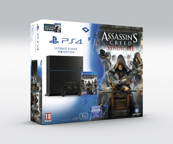 PS4 Assassin's Creed: Syndicate Bundle