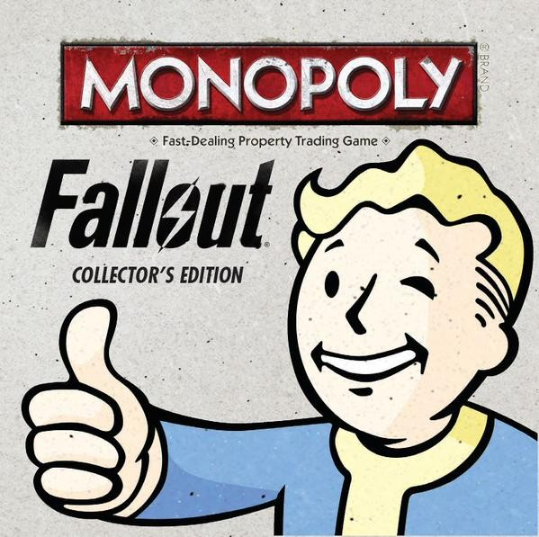 Fallout 4 Themed Monopoly Game