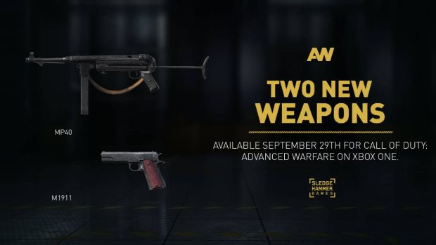 Call of Duty Advanced Warfare weapons