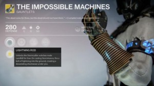 Destiny Xur Inventory: Impossible Machines, The Glasshouse, Bad Juju
