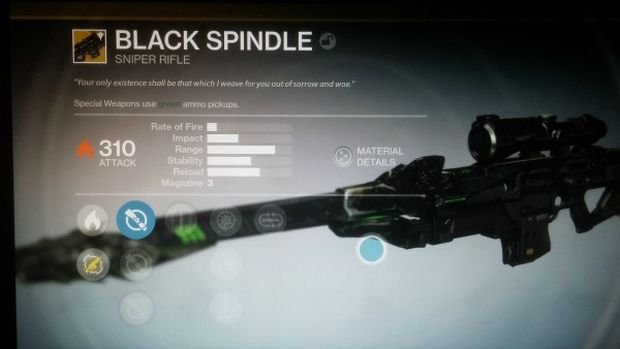 Destiny The Taken King Black Spindle