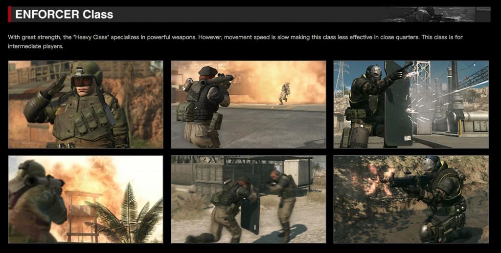 Metal Gear Online 3 Enforcer Class