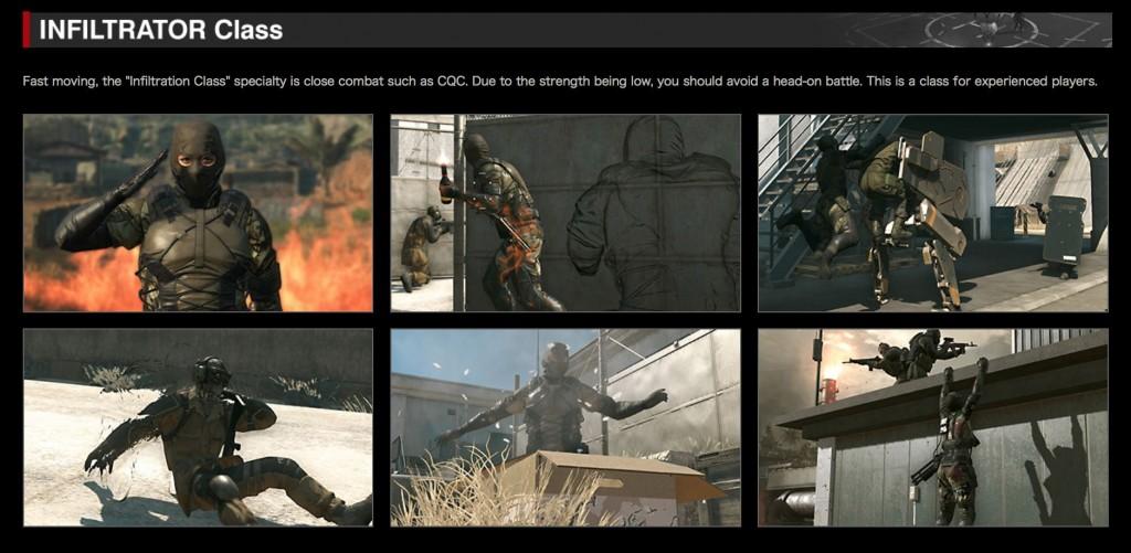 Metal Gear Online 3 Infiltrator Class