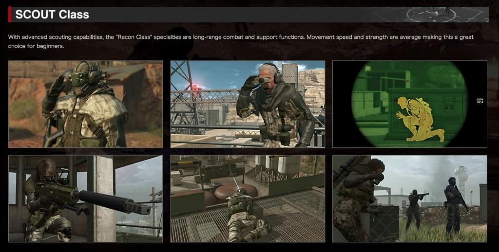 Metal Gear Online 3 Scout Class