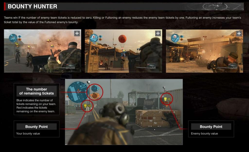 Metal Gear Online 3 Bounty Hunter