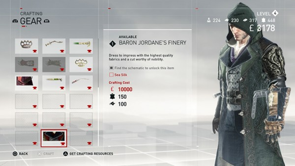 assassins creed syndicate crafting