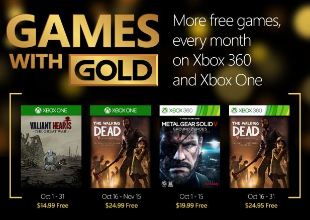 games-with-gold-october-2015 xbox one xbox 360