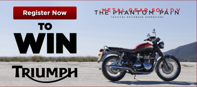 mgs5 motorbike contest