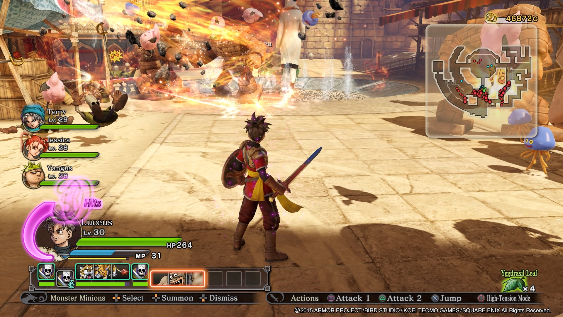 DRAGON QUEST HEROES: The World Tree's Woe and the Blight Below_20151009034250