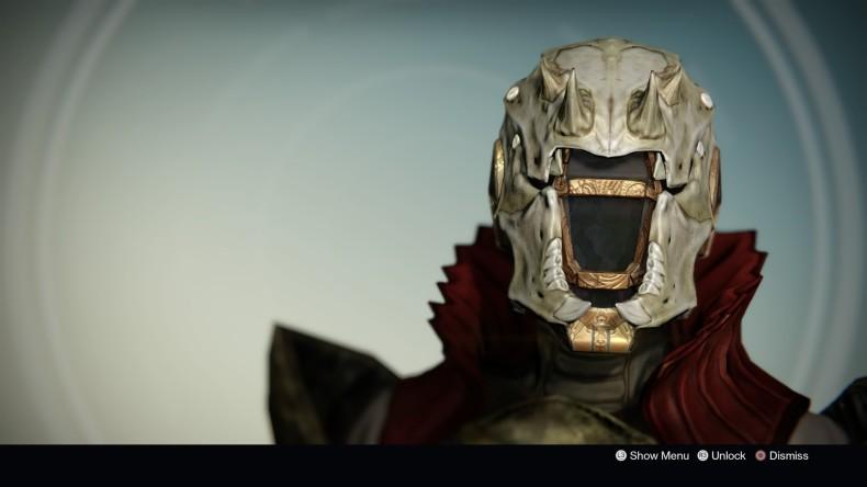Destiny Skull of Dire Ahamkara