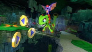 Yooka-Laylee Multiplayer Footage Showcases Multiplayer Kart Racing
