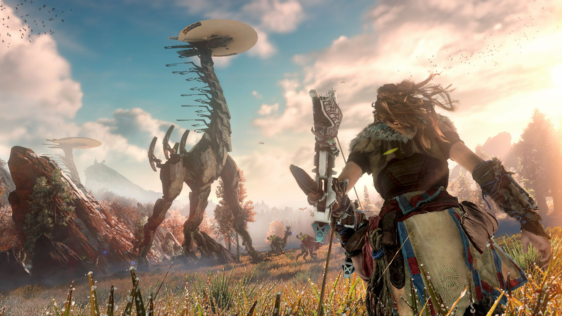 Horizon Zero Dawn Karte.Horizon Zero Dawn S Map Revealed Is Pretty Massive In Size
