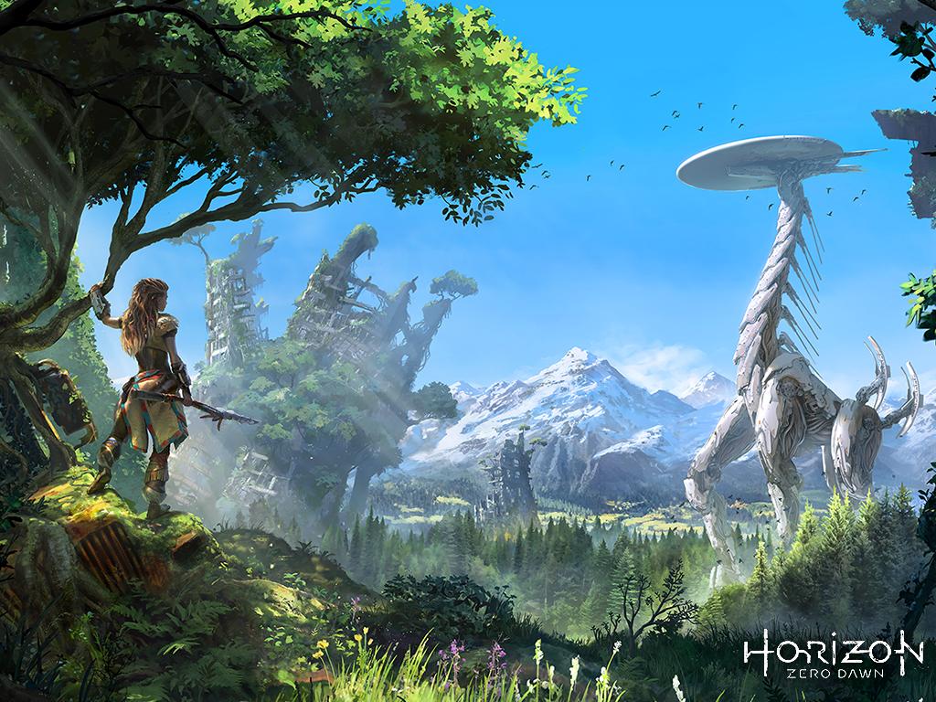 Horizon Zero Dawn Wallpapers: PS4 Exclusive Horizon: Zero Dawn Receives Official Wallpapers