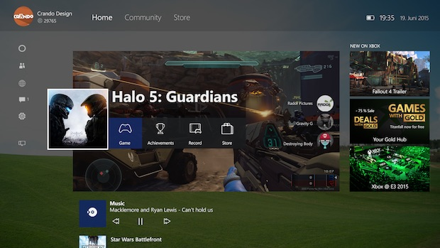 new xbox one experience windows 10