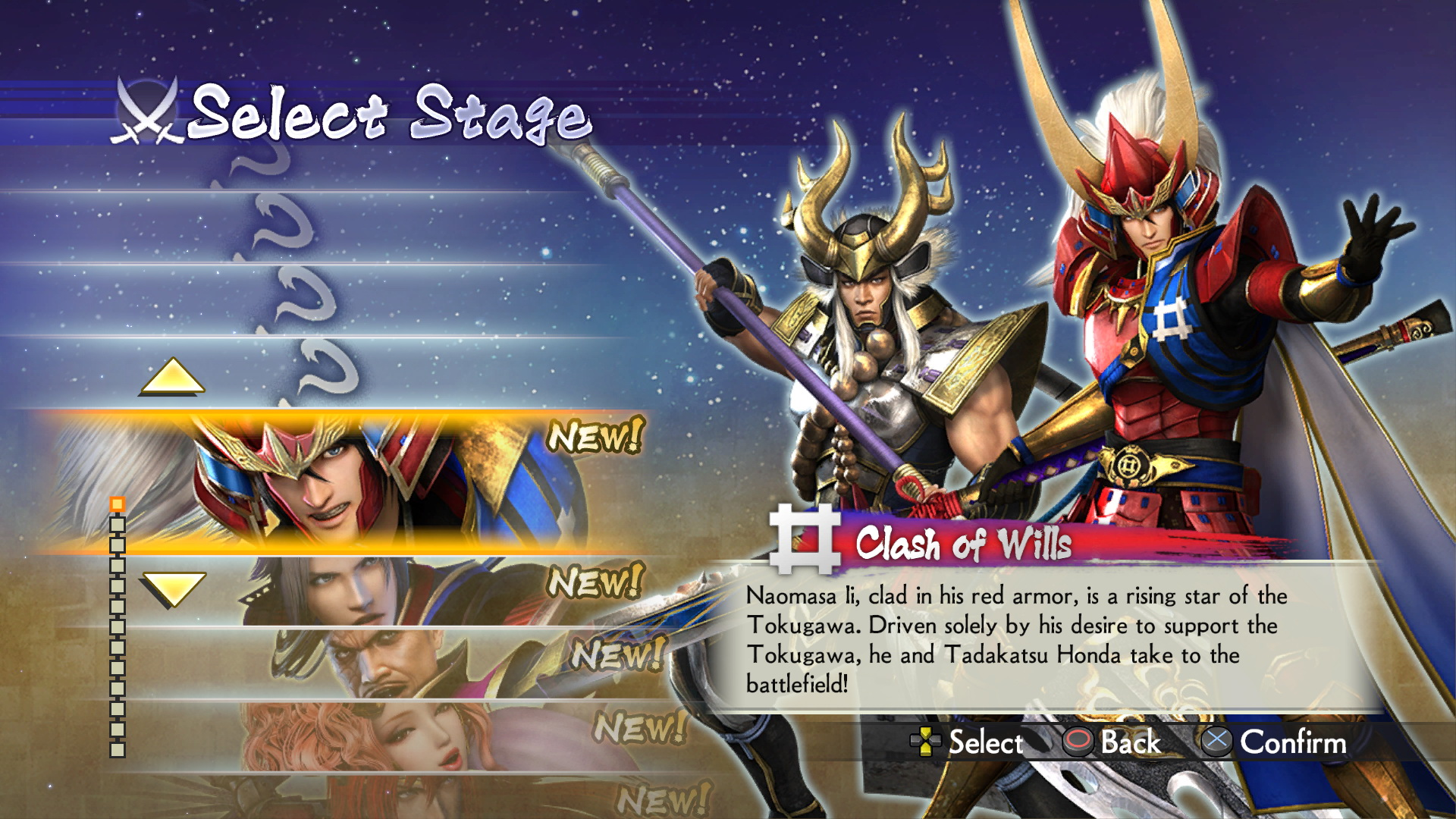 samurai warriors 4-2 story