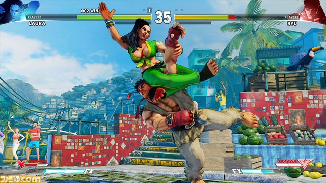 street fighter v laura 6