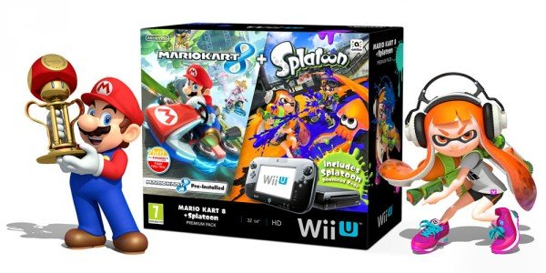 wii u splatoon mario kart bundle
