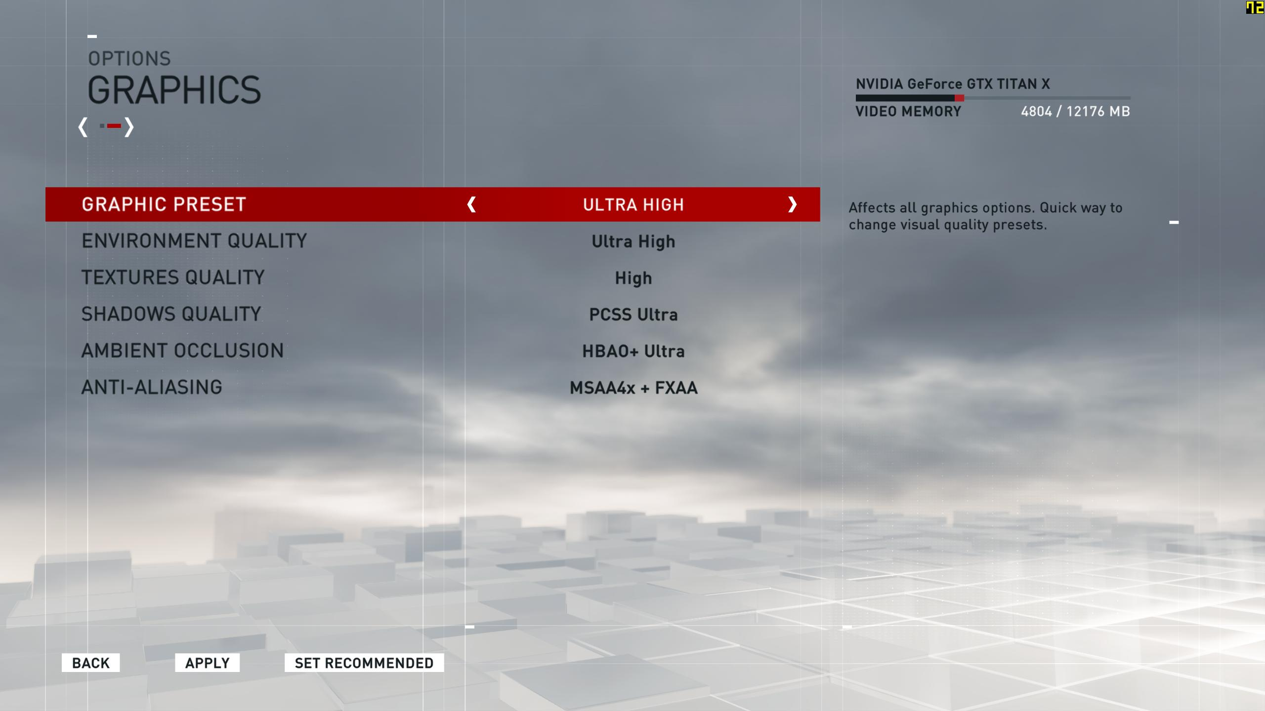 assassins creed syndicate pc version settings