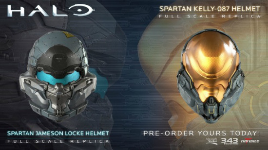 halo 5 replica helmets