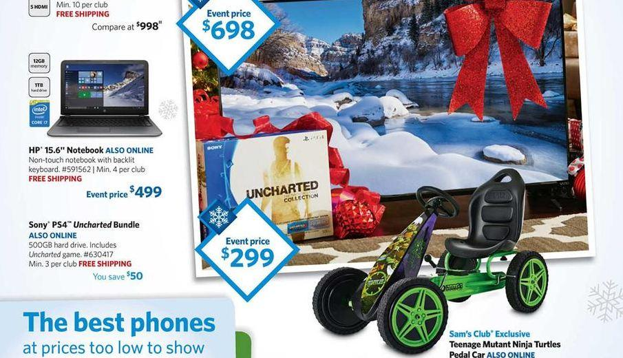 sams club ps4 ad