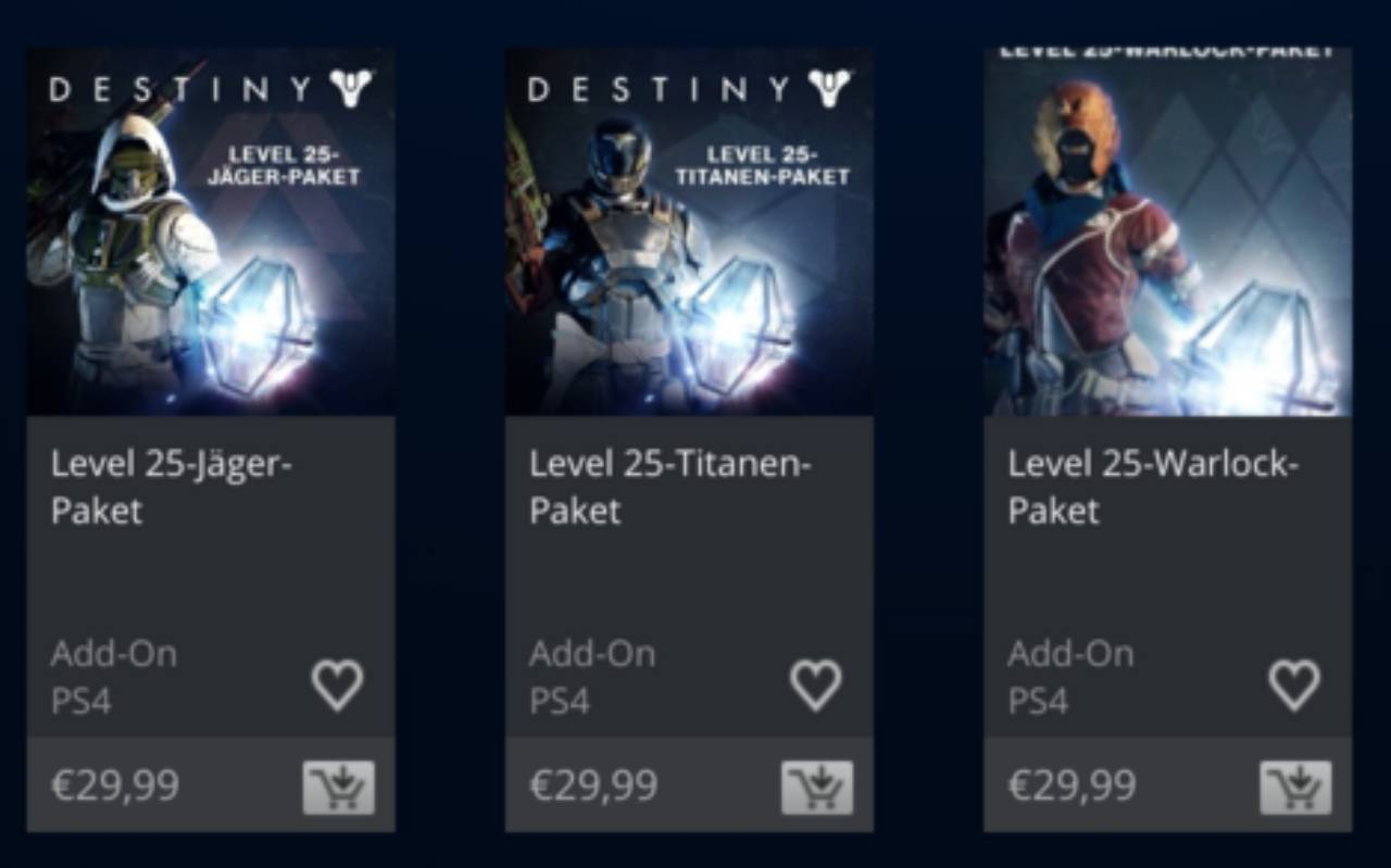 General destiny the taken king class booster packs have gone live