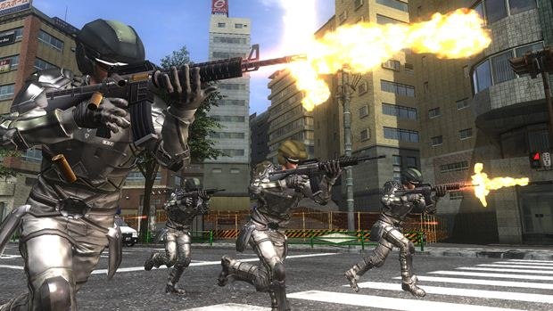 Earth Defense Force 4.1 The Shadow of Despair