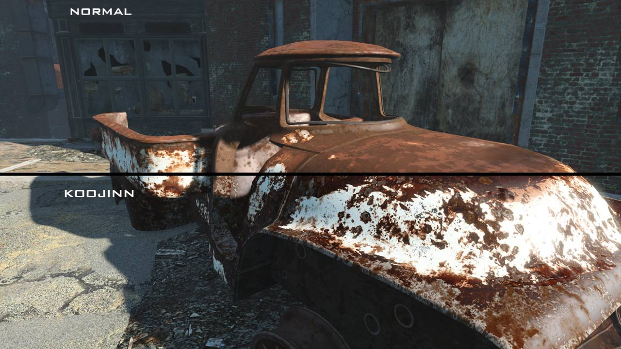 Mercedes Benz Bethesda >> Fallout 4 Gets New Texture Packs Mod For Better Graphics « GamingBolt.com: Video Game News ...