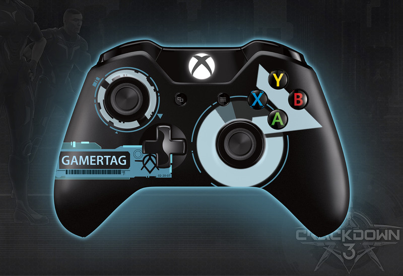xbox one crackdown 3 controller
