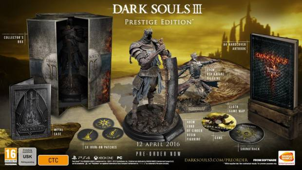 Dark Souls 3 Prestige Edition