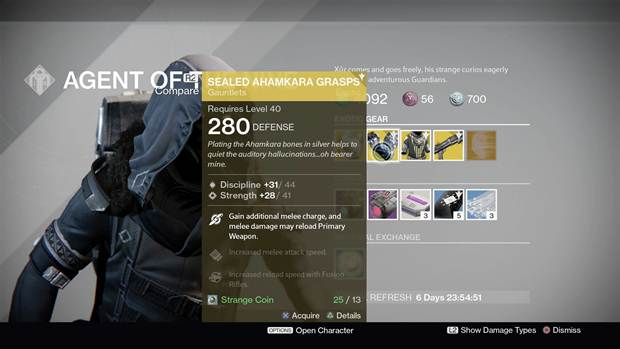 Destiny Xur Location and Items for January 1-3 2016