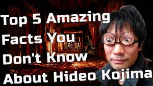 5 Amazing Facts You Don't Know About Hideo Kojima