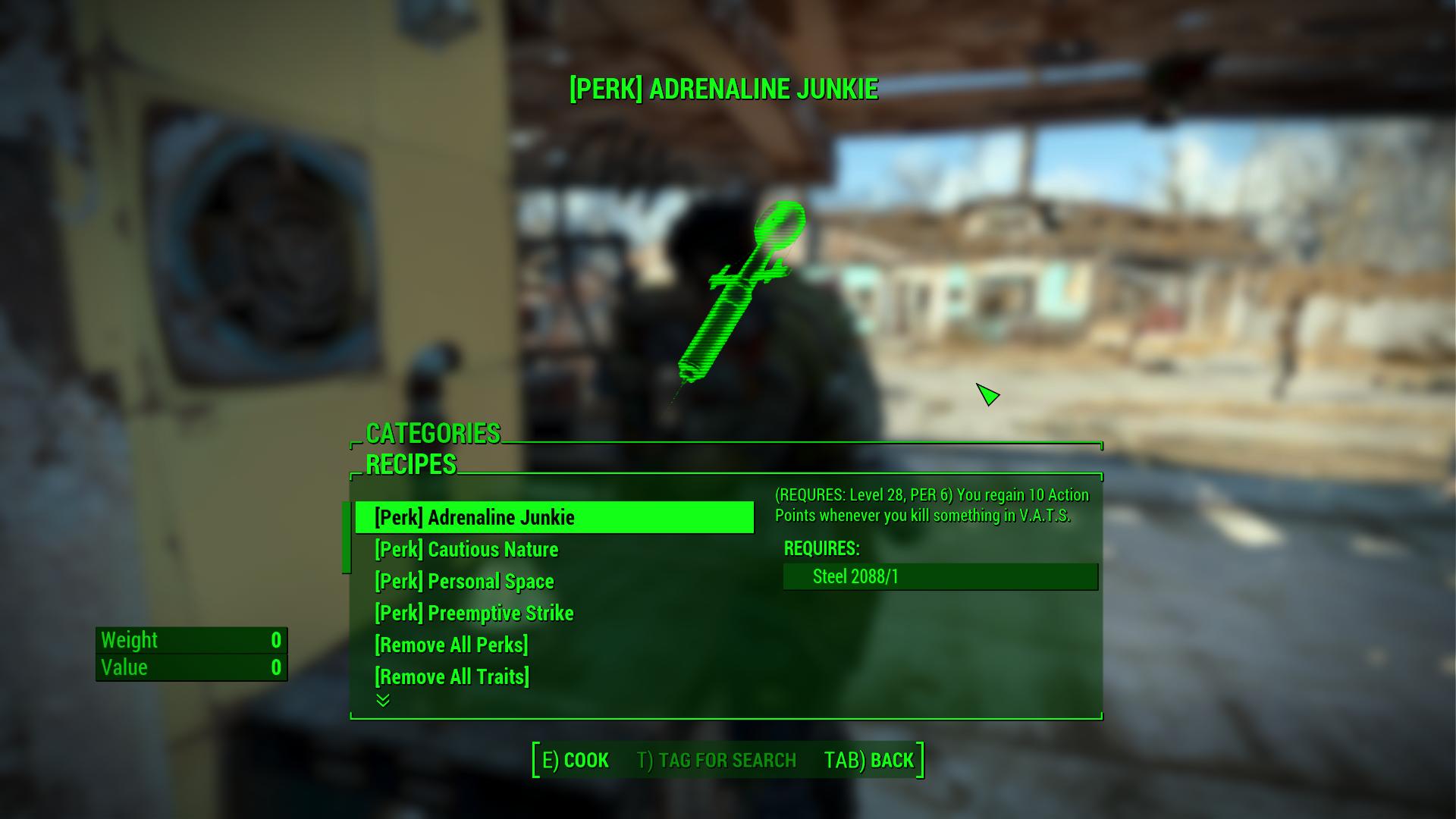 fallout 4 mods traits