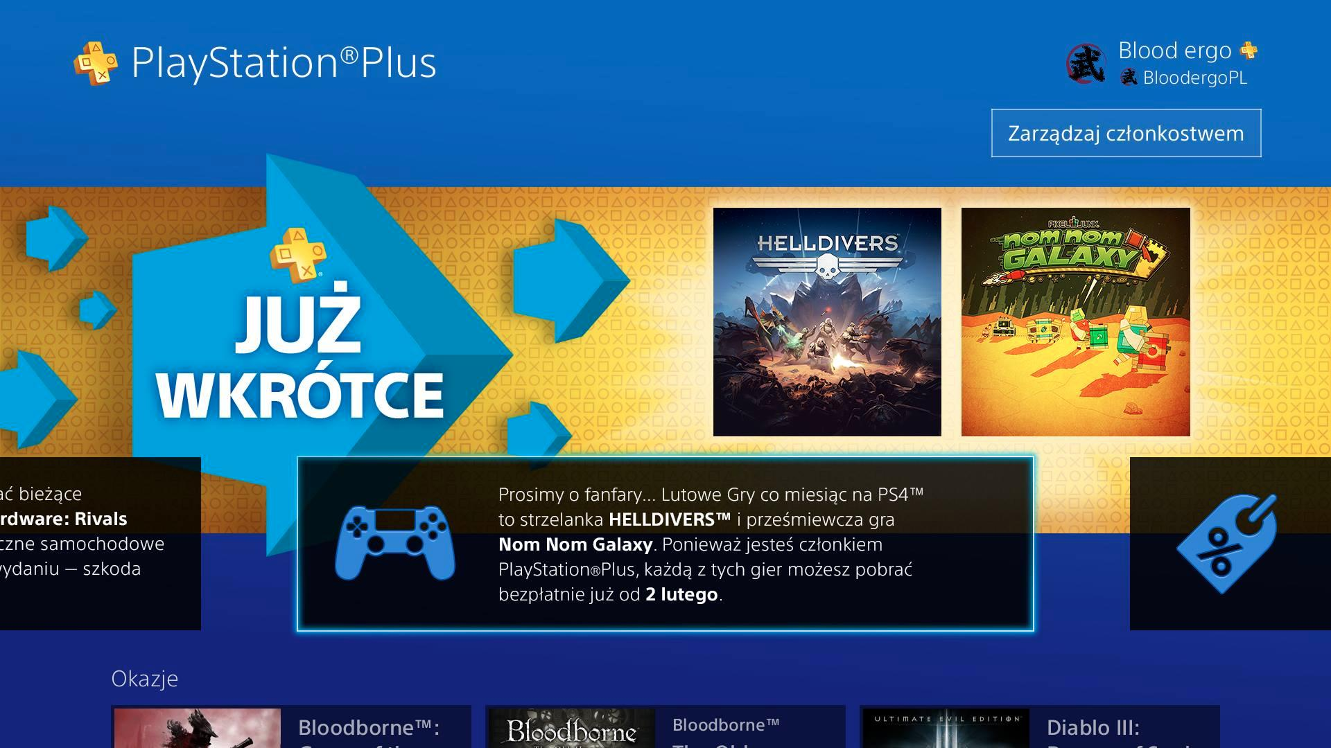 PlayStation Plus February 2016 free games partial lineup leaked
