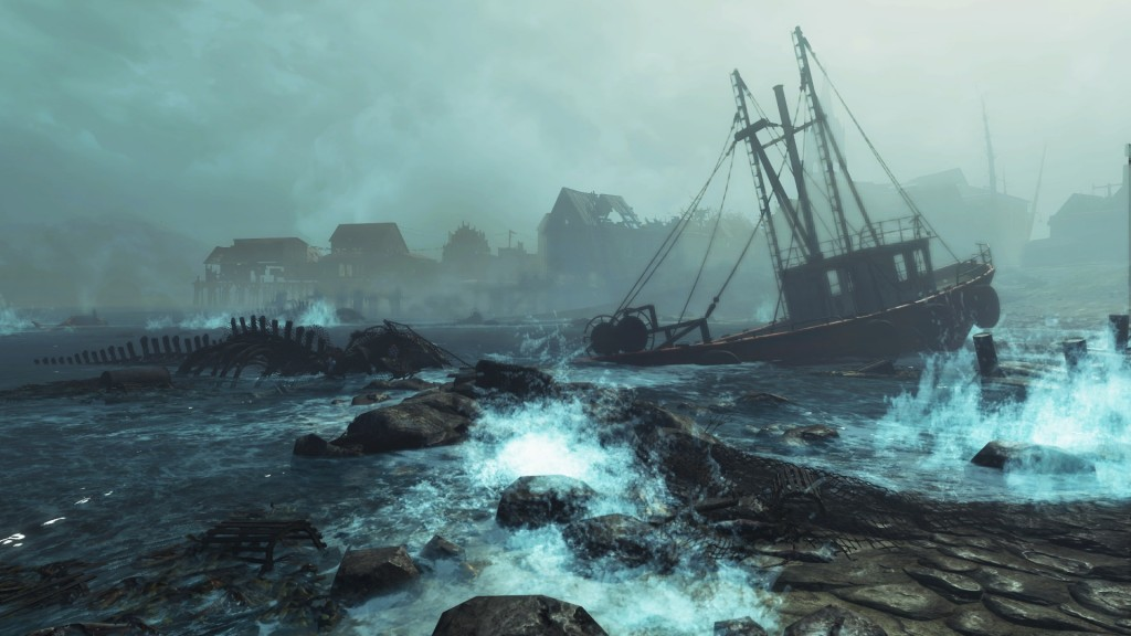 Fallout 4 Far Harbor Screen
