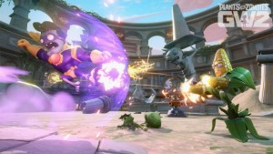 Plants vs Zombies Garden Warfare 2 Getting Trouble in Zombopolis DLC This Summer