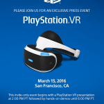 Playstation VR Event