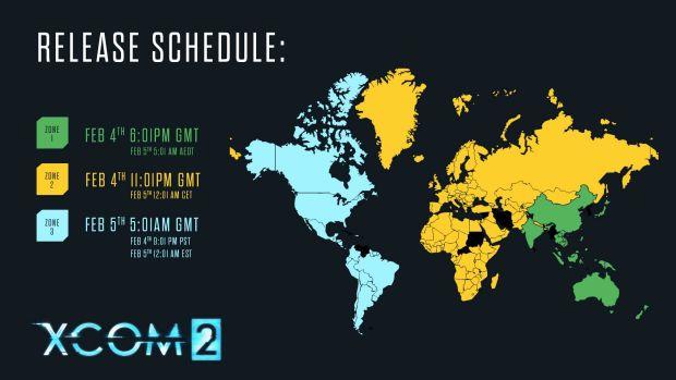 XCOM 2 pre-load schedule