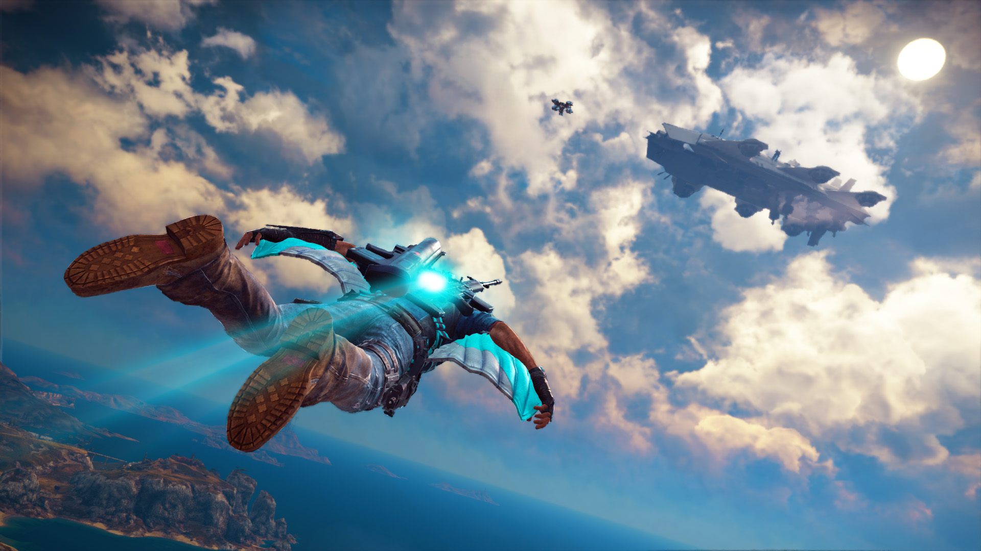 sky fortress just cause 3