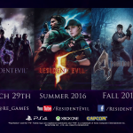 Resident Evil 4, 5, and 6 Coming to PS4 and Xbox One This Summer