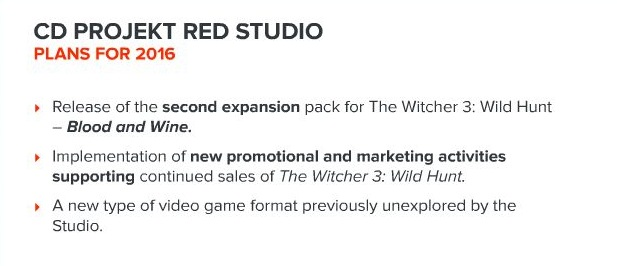 CD Projekt RED presentation