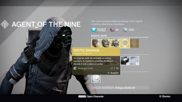 destiny xur march 10 update
