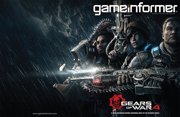 gears of war 4 game informer cover