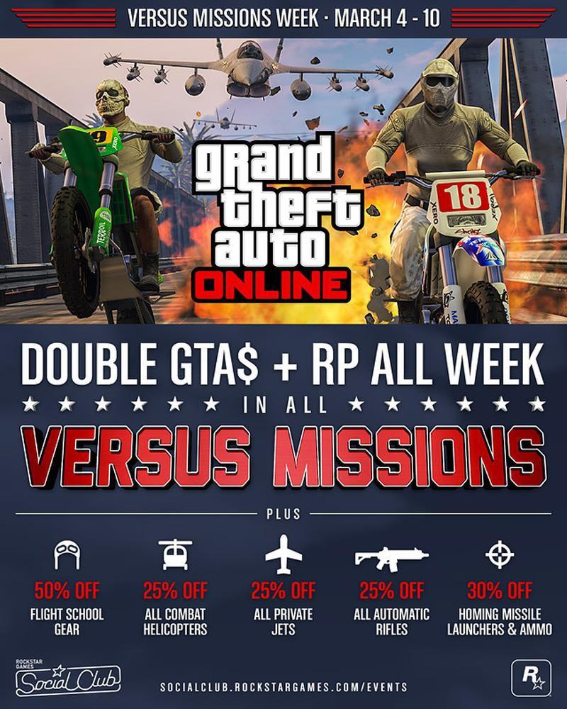 gta online double rp