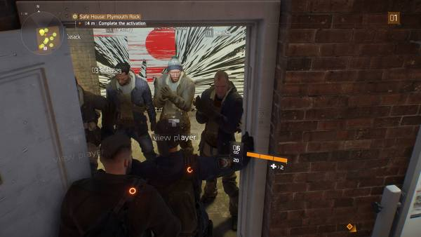 the division doorway