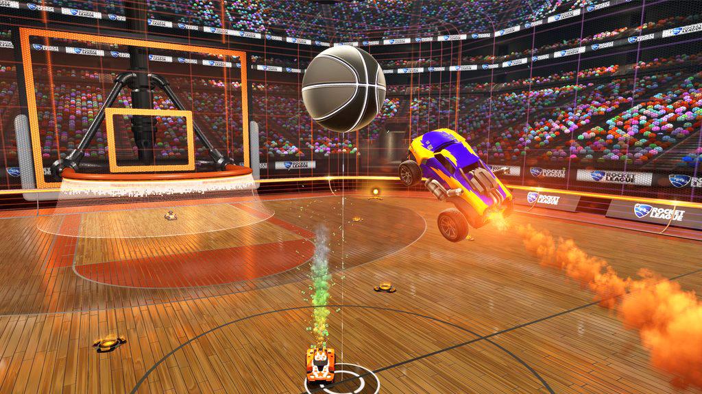 Rocket League Hoops