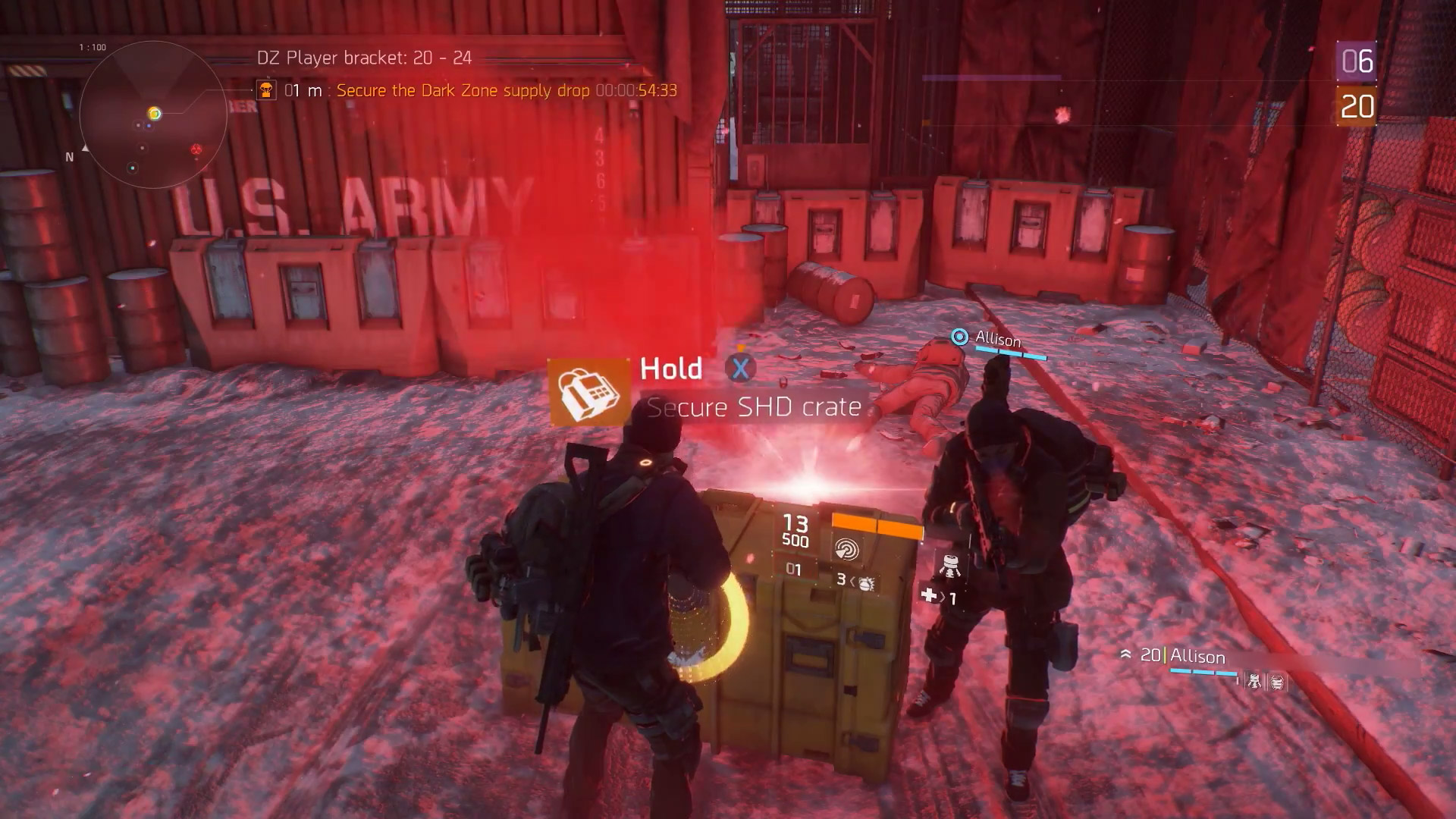 The Division_Dark Zone Supply Drop