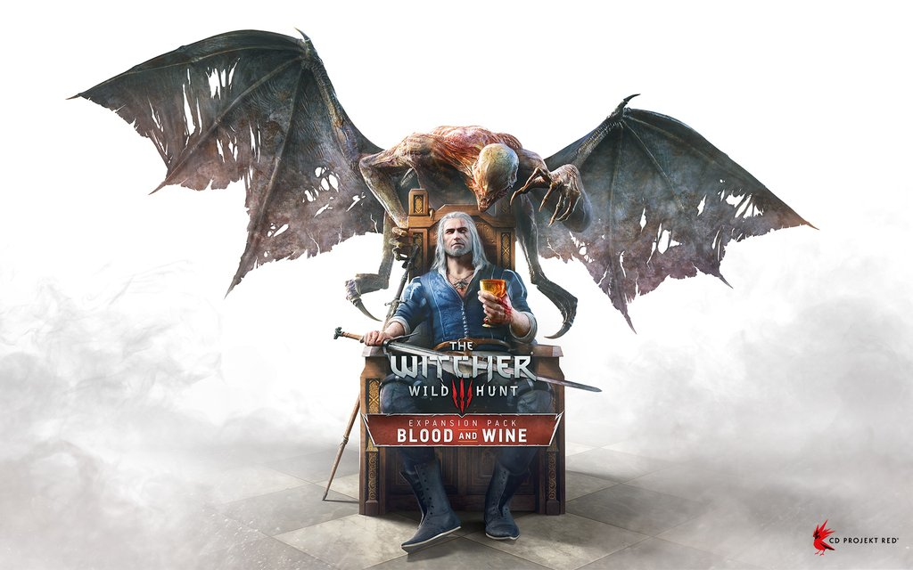 The Witcher 3 Blood and Wine cover art