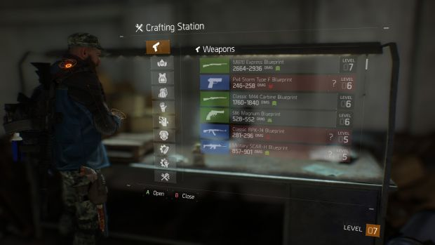 Tom Clancy's The Division_crafting