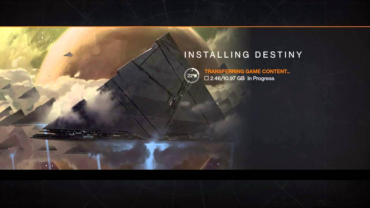 destiny loading screen